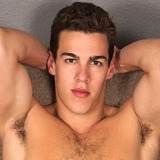 Tyler – You gotta love the hairiness of his chest