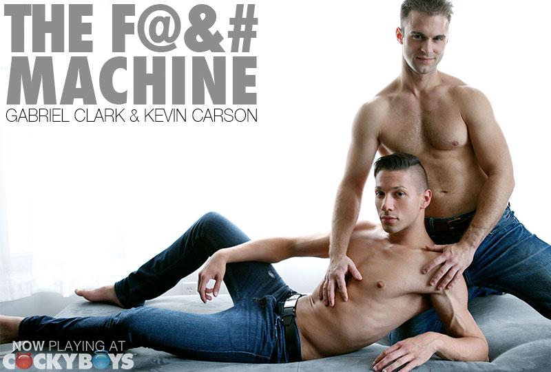 Sex machine Gabriel brutally drills Kevin
