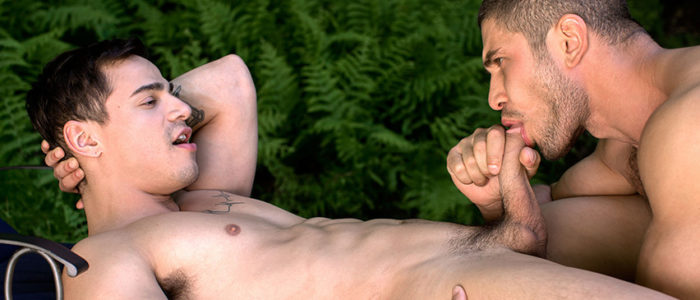 Cockyboys Dato Foland Fucks Levi Karter outdoor gay sex male feet hairy chest uncut dick feat
