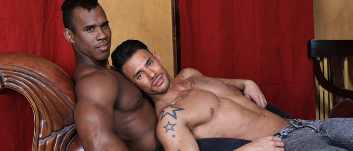 Kristen Bjorn Wild Seed Interracial Barback Gay Fuck Sergyo fucked by Black Cuban Stallion Ridder Rivera Uncut Cocks Male Feet feat