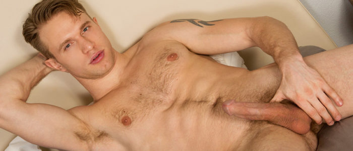 Sean Cody Wallace Solo Masturbation Jerk Off Scene White Cock Closeup Of Wasted Cock Male Feet Hairy Chest feat